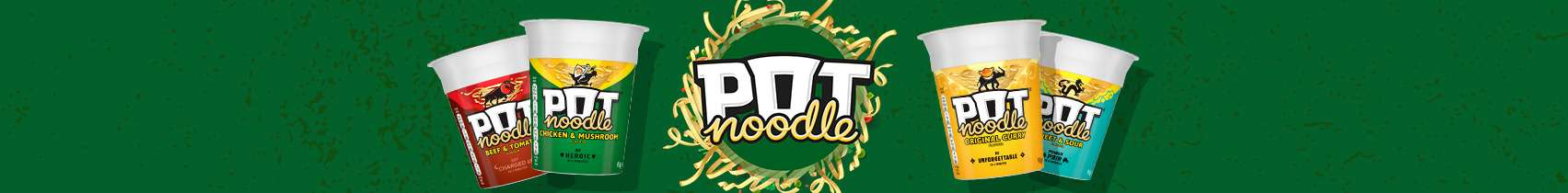 Pot Noodle Web Banner - Desktop
