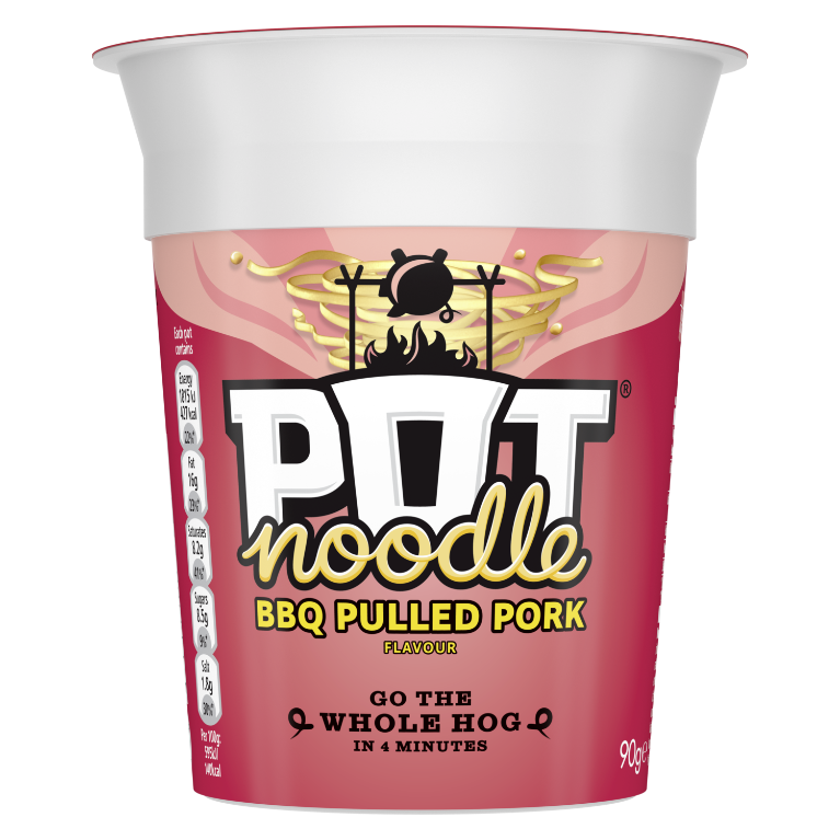 Pot Noodle Pulled Pork