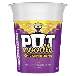 Pot Noodle Chicken Korma Standard 90g