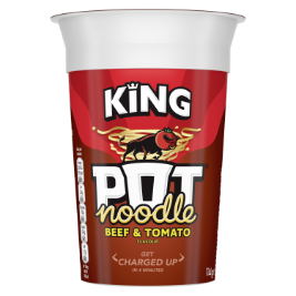 Pot Noodle Beef and Tomato King Pot 114g